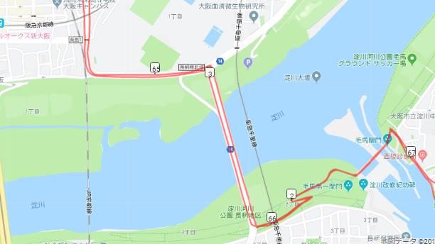 大阪市内から箕面までのおすすめルート1